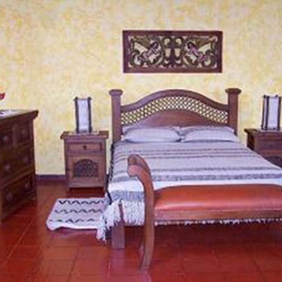 Muebles Rústicos La Cabaña Alcoba Andrómeda