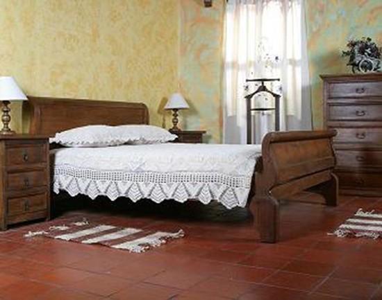 Muebles Rústicos La Cabaña Alcoba Gandola