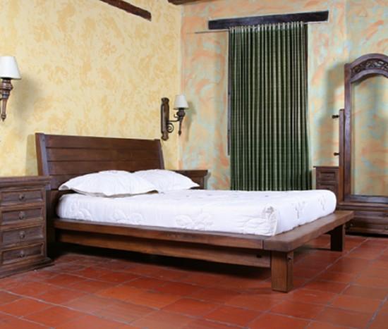 Muebles Rústicos La Cabaña Alcoba Morfeo