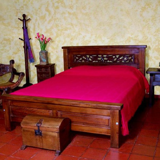 Muebles Rústicos La Cabaña Alcoba Roma