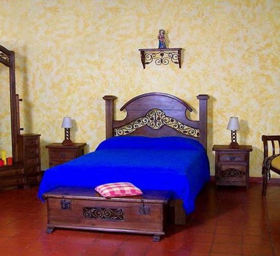 Muebles Rústicos La Cabaña Alcoba Yuma I