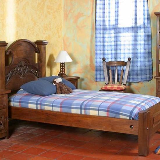 Muebles Rústicos La Cabaña Alcoba Yuma II