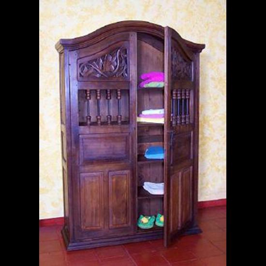 Muebles Rústicos La Cabaña Armario Colonial