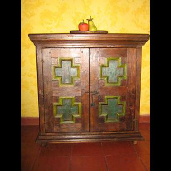 Muebles Rústicos La Cabaña Armario Cruz Color