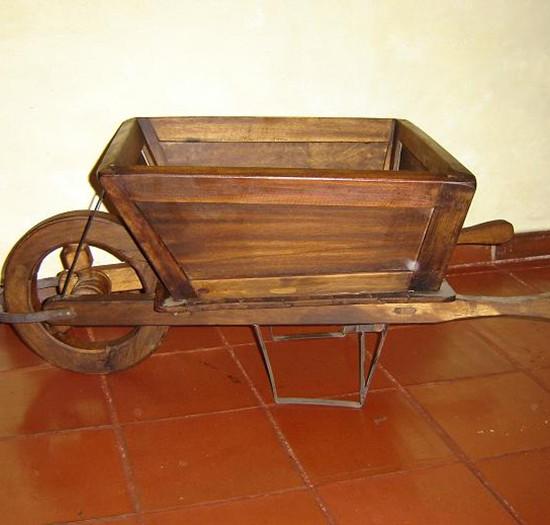 Muebles Rústicos La Cabaña Carretilla