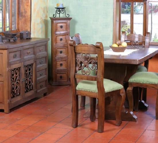 Muebles r sticos la caba a comedores for Muebles comedor rusticos