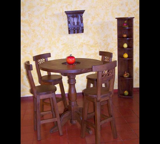 Muebles Rústicos La Cabaña Comedor Bar