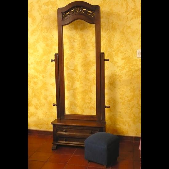 Muebles Rústicos La Cabaña Espejo de Piso