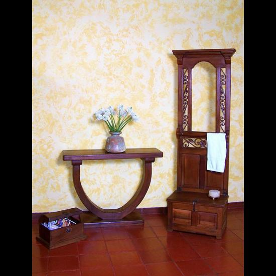 Muebles Rústicos La Cabaña Juego Auxiliar 1