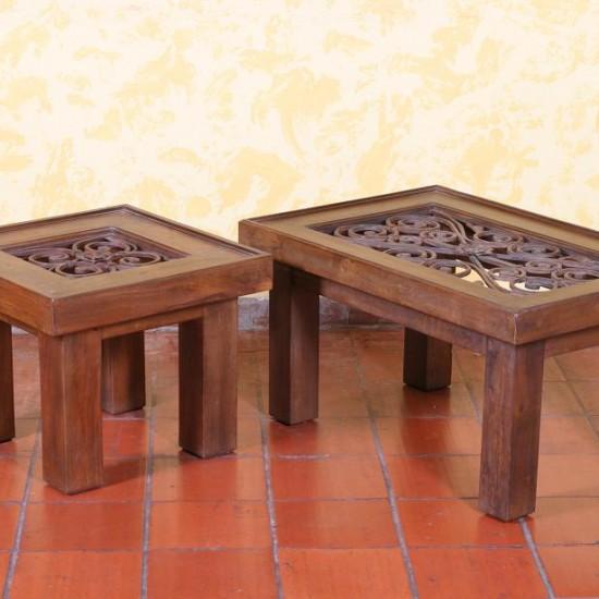 Muebles Rústicos La Cabaña Mesas Centro Galateas