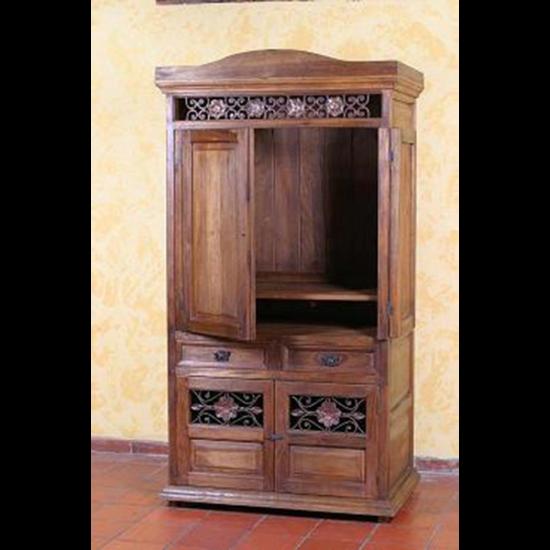 Muebles Rústicos La Cabaña Mueble de TV Iliana
