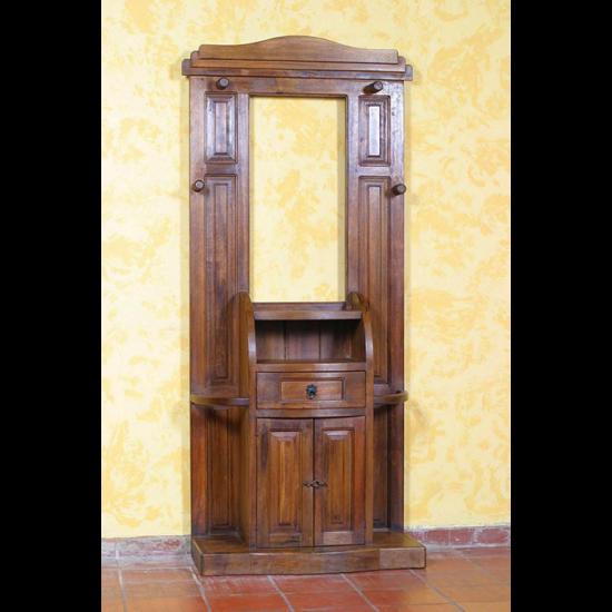 Muebles Rústicos La Cabaña Recibidor Henry