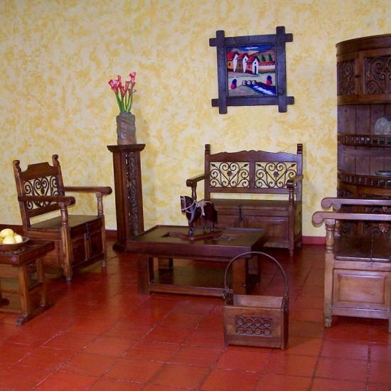 Muebles Rústicos La Cabaña Sala Arcon