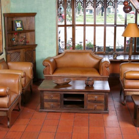 Muebles Rústicos La Cabaña Sala Hércules