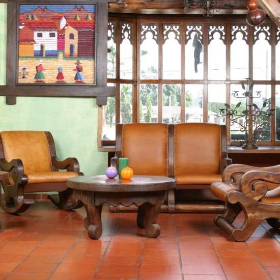 Muebles Rústicos La Cabaña Sala Perseus