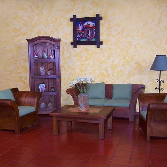Muebles Rústicos La Cabaña Sala Poltrona