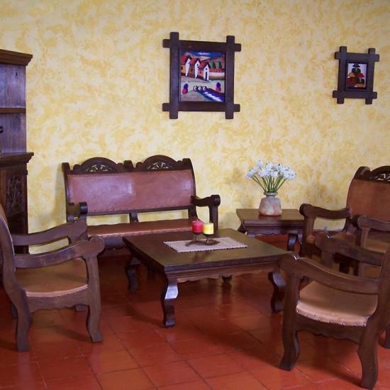 Muebles Rústicos La Cabaña Sala Zata