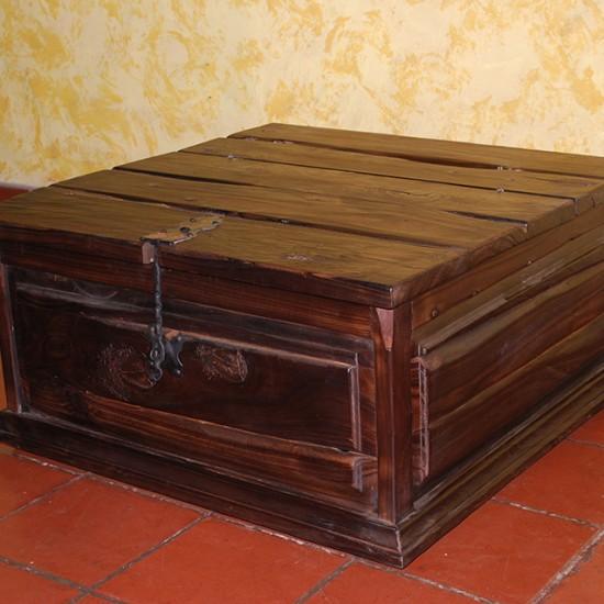 Muebles Rústicos La Cabaña Baúl Mesa