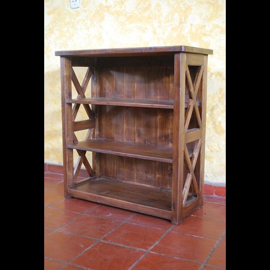Muebles Rústicos La Cabaña Biblioteca X