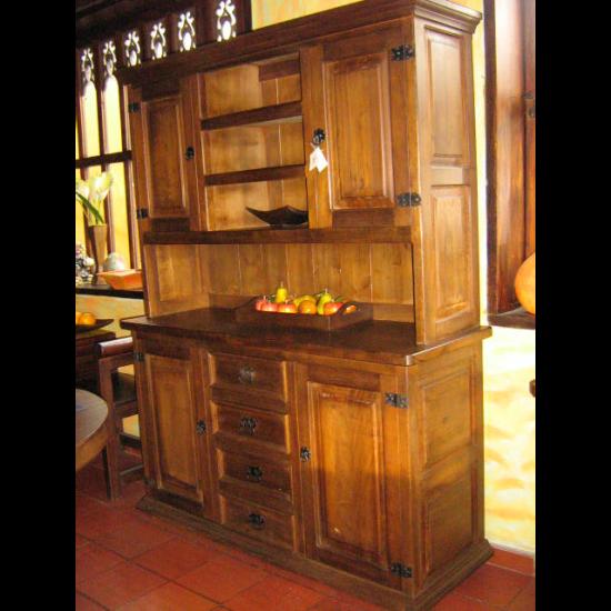 Muebles Rústicos La Cabaña Bife Completo Kaspi