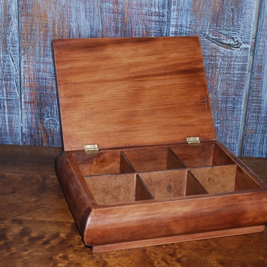 Muebles Rústicos La Cabaña Caja Té
