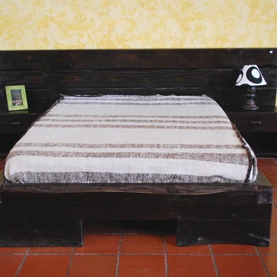 Muebles Rústicos La Cabaña Cama tablón