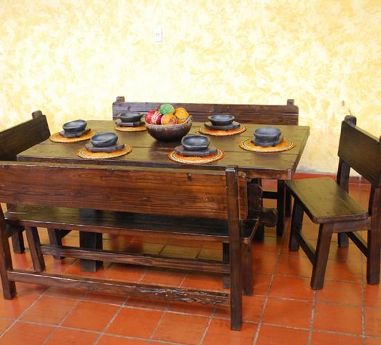 Muebles Rústicos La Cabaña Comedor Rústico