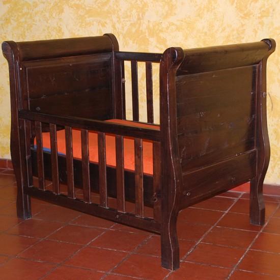 Muebles Rústicos La Cabaña Cuna Sebastian