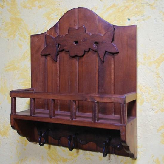 Muebles Rústicos La Cabaña Repisa Roma