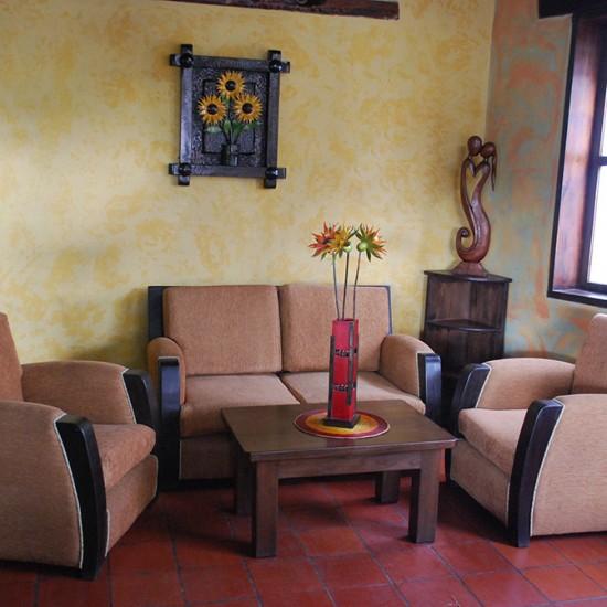 Muebles Rústicos La Cabaña Sala Tenza